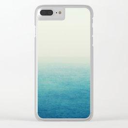 The Big Blue Clear iPhone Case