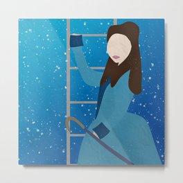 Souffle Girl, Clara Oswin Oswald - Doctor Who Metal Print