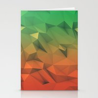 low poly Stationery Cards featuring Mango (Low Poly) by error23