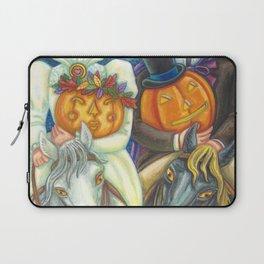 SLEEPY HOLLOW WEDDING - Brack Headless Horseman Halloween Art Laptop Sleeve