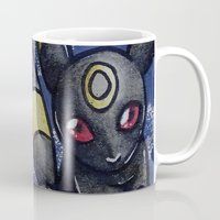 umbreon Mugs featuring 197 - Umbreon by Lyxy