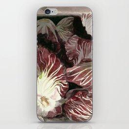 Radicchio in Box iPhone Skin