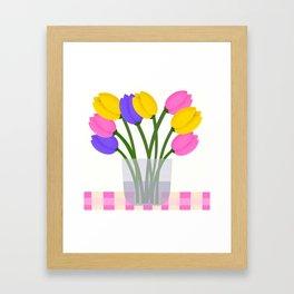 Happy Spring Framed Art Print