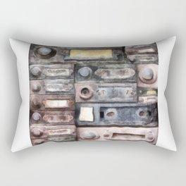 ring the me Rectangular Pillow