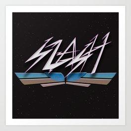 Slash Art Print