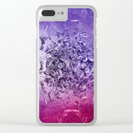 strange forms Clear iPhone Case