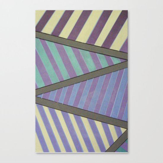 Zig Zag run Canvas Print