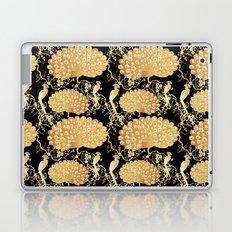 golden peacock Laptop & iPad Skin