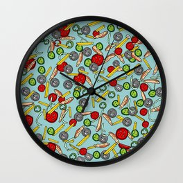 Life is a shawarma  Wall Clock