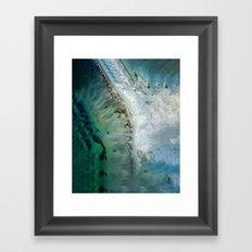 Perfect Flow Framed Art Print