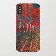 Groovy Slim Case iPhone X