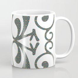 Art Deco Geometric Coffee Mug