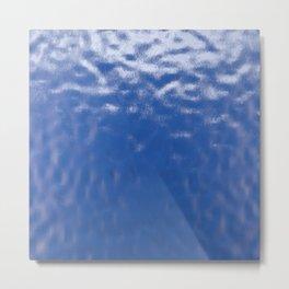 Blue Deep Metal Print