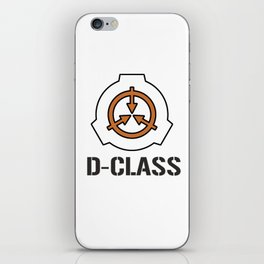 SCP Foundation: D-Class iPhone Skin
