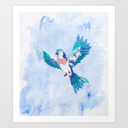 Hoopless: Fly Away Art Print