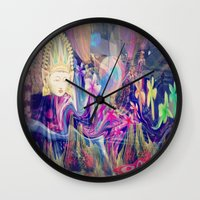 singapore Wall Clocks featuring Singapore Love by Bohemian Bliss