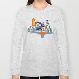 Sink Sank Sunk Long Sleeve T-shirt