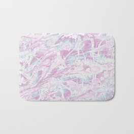 Baesic Wet Paint Purple Bath Mat