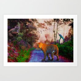 Animal Kingdom 1 Art Print