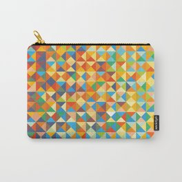 Triangles & Colors Carry-All Pouch