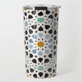 Mosaic Detail, Fes, Morocco Travel Mug
