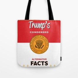 Trump's Alternative Facts Soup Tote Bag