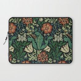 William Morris Compton Floral Art Nouveau Pattern Laptop Sleeve