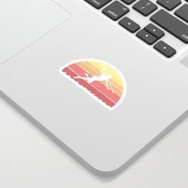 Spearfisher Graphic Design For Scuba Diving Sticker