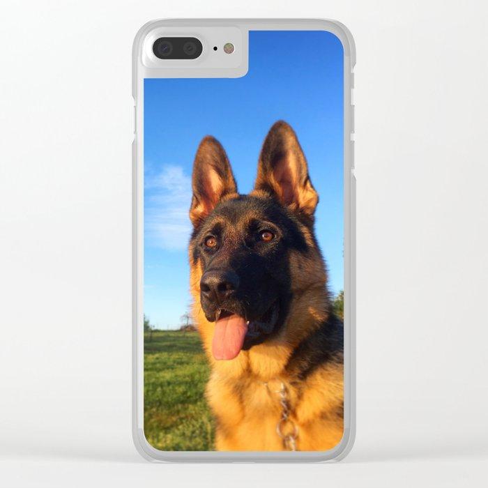 Caspian at Dusk Clear iPhone Case