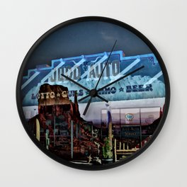 Roadside Americana Wall Clock