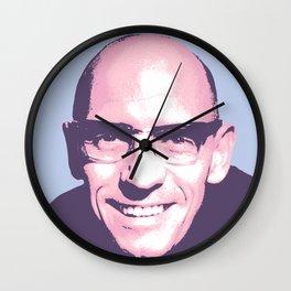 Michel Foucault Wall Clock