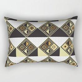 African Tribal Pattern No. 89 Rectangular Pillow