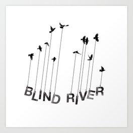 Blind River Birds Art Print