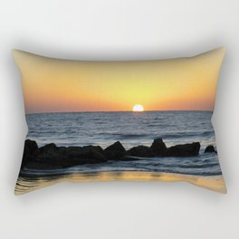 Folly Beach Sunrise Rectangular Pillow