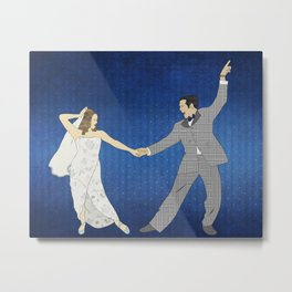 First Dance Metal Print