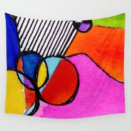 Magical Thinking 7A6 by Kathy Morton Stanion Wall Tapestry