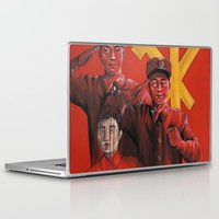 korea Laptop & iPad Skins featuring Military in North Korea by kaliwallace