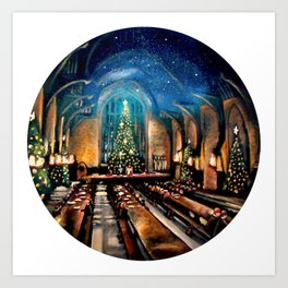Magic at Christmas Art Print