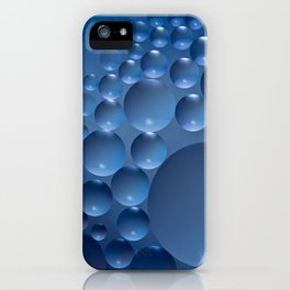 Blue moon. iPhone Case