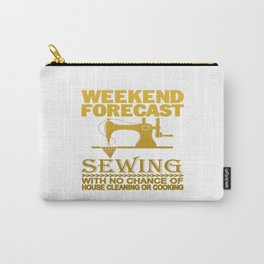 WEEKEND FORECAST SEWING Carry-All Pouch