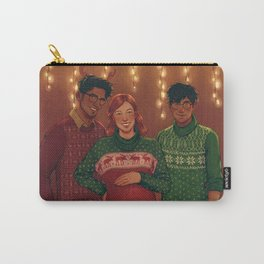 Christmas Portrait Carry-All Pouch