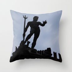 Nettuno è perfetto Throw Pillow