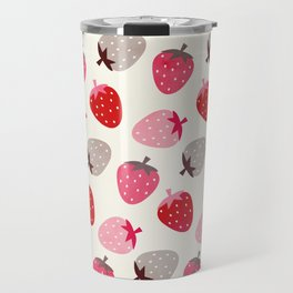 STRAWBERRY FIELDS Travel Mug