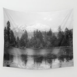 View of Mount Shasta Wall Tapestry