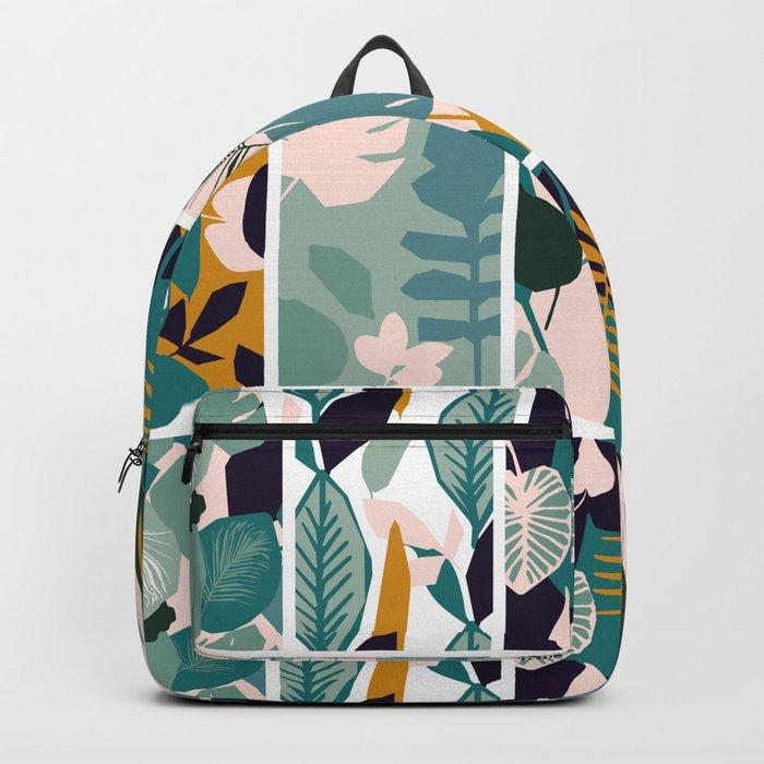 The Leaf Patern Backpack