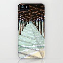 Bogue Inlet Pier iPhone Case