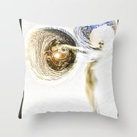 boobs Throw Pillows featuring Boobs by ChiTreeSign
