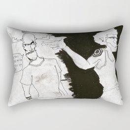 8-Ball is a piece of shit! Rectangular Pillow