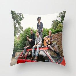 1D FOUR photoshoot Throw Pillow