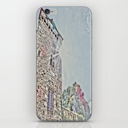 Tower under sun iPhone Skin
